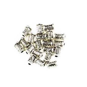 Разделительная бусина/спейсер, цвет тибетское серебро