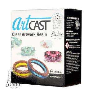 ArtCast ювелирная двухкомпонентная эпоксидная смола, 200 мл.