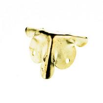 Уголок металлический С-074, цвет золото 1,8х1,8 см