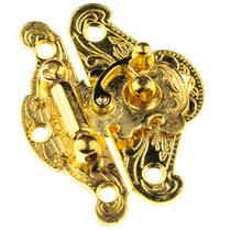 Замочек металлический А-085, цвет золото, 5х4 см