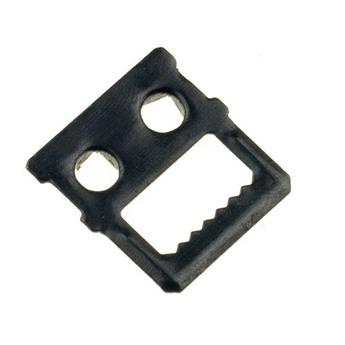 Вешалка для картинки 2,8х2,5 см, цвет черный