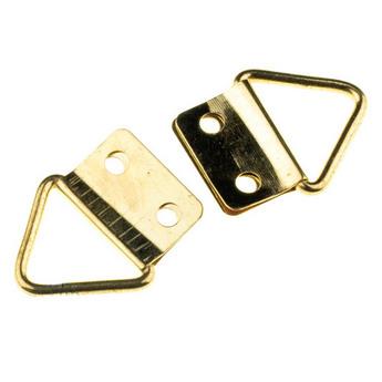 Петельки для заготовок, цвет золото 2х2,3 см
