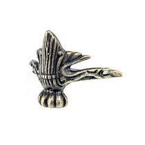 Ножка металлическая М-330, цвет бронза 3х3 см