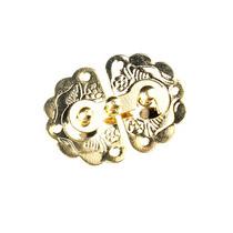 Замочек металлический А-039, цвет золото, 4х3 см