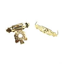 Замочек металлический А-007, цвет золото, 2х1,7 см