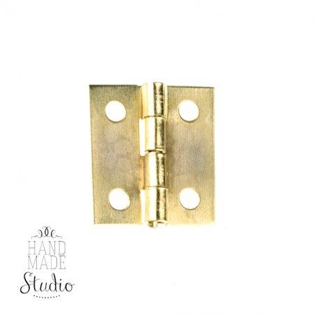 Завеса для шкатулки складывающаяся D-041, цвет золото, 1,5 см