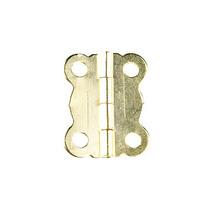 Завеса для шкатулки складывающаяся В-009, цвет золото, 2 см