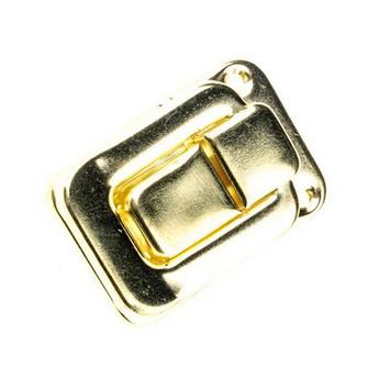 Замочек металлический А-014, цвет золото, 2х2,2 см