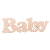 """Слово """"Baby"""" ножка и ручка"""