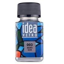 Краска для стекла Idea 003 Серебро