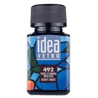 Краска для стекла Idea 472 Коричневая
