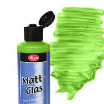 Стеклоэффект гель матовый, Зеленый, 82 мл