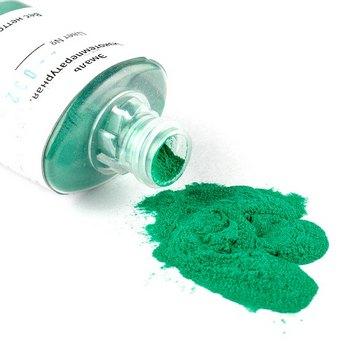 Низкотемпературная эмаль, цвет- прозрачный зеленый 032, 12г