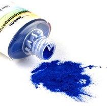 №031 Низкотемпературная эмаль, цвет- прозрачный синий, 12г