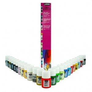 Набор акриловых красок Pebeo Deco, 25 цветов