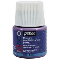 Акриловая краска Pebeo Deco Matt, пепельный фиолетовый