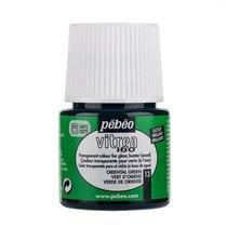 Краска для стекла под обжиг Vitrea Pebeo 13, цвет - восточный зеленый