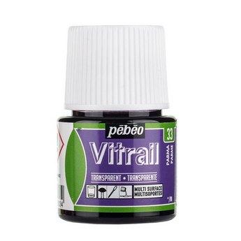 Краска для стекла прозрачная Vitrai 33 Пармский