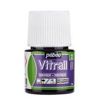 Краска для стекла прозрачная Vitrai 33 Пармский, 45мл.