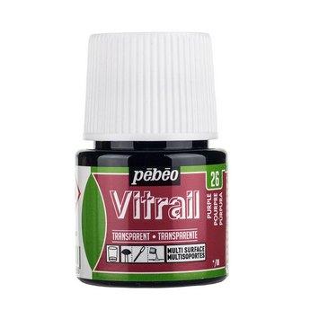 Краска для стекла прозрачная Vitrail 26 Пурпурная