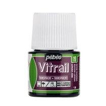 Краска для стекла прозрачная Vitrail 19 Красно-фиолетовая