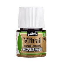 Краска для стекла прозрачная Vitrail 38 Золотая, 45мл.