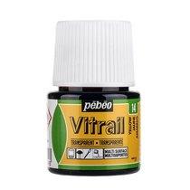 Краска для стекла прозрачная Vitrail  14 Желтая, 45мл.