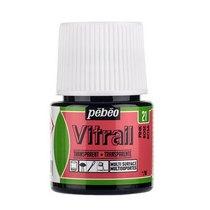 Краска для стекла прозрачная Vitrail 21 Розовая