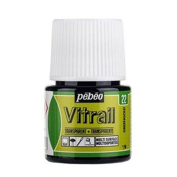 Краска для стекла прозрачная Vitrail 22 Золотисто-зеленая