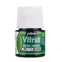 Краска для стекла прозрачная Vitrail 13 Изумрудная