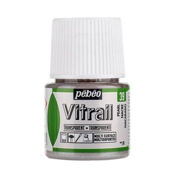 Краска для стекла прозрачная Vitrail 39 Перламутровая