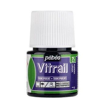Краска для стекла прозрачная Vitrail 25 Фиолетовая