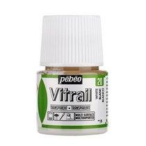 Краска для стекла прозрачная Vitrail 20  Белая