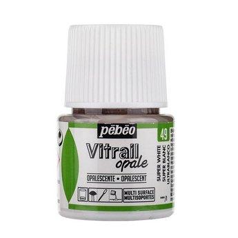 Краска для стекла непрозрачная Vitrail Opaque 49 Супер белый