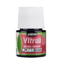 Краска для стекла прозрачная Vitrail  12 Малиновая