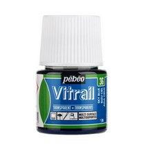 Краска для стекла прозрачная Vitrail 36 Небесно-голубая, 45мл.