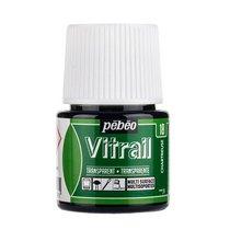 Краска для стекла прозрачная Vitrail 18 Шартрез, 45мл.
