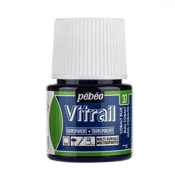 Краска для стекла прозрачная Vitrail 37 Синий кобальт