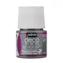 №054 Акриловая краска Pebeo Deco Matt, серый 45мл.