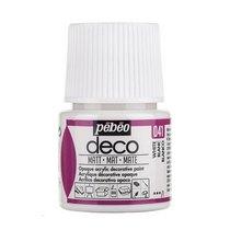 №041 Акриловая краска Pebeo Deco Matt, белая 45мл.