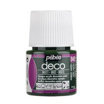 Акриловая краска Pebeo Deco Matt, зеленый лес 049