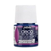 №079 Акриловая краска Pebeo Deco Matt, темный синий 45мл.