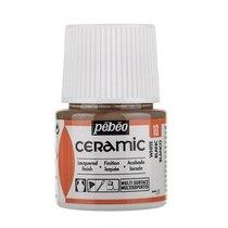Краска-эмаль лаковая непрозрачная Ceramic 10, цвет - белый