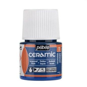 Краска-эмаль лаковая непрозрачная Ceramic Pebeo 11, цвет - лавандовый