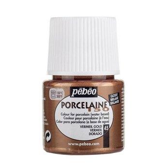 Краска под обжиг непрозрачная Porcelaine Pebeo 45, цвет -  Богатое Золото