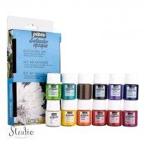 Набор красок Pebeo Setacolor Opaque, 12 цветов
