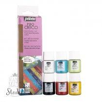 Набор акриловых красок Pebeo Deco Glossy, 6 цветов