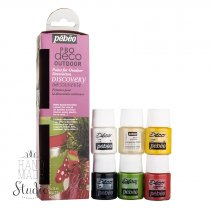 Набор акриловых красок Pebeo Deco Outdoor, 6 цветов