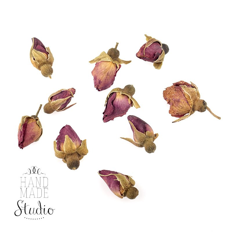 Сухоцвет бутоны роз