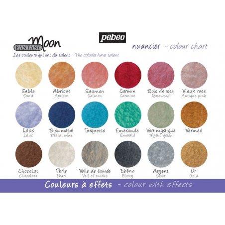"""Набор красок """"Лунные фантазии"""" Pebeo Fantasy 12 цветов"""